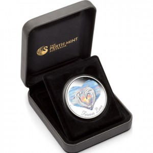 2013 Forever Love Silver Coin in Case