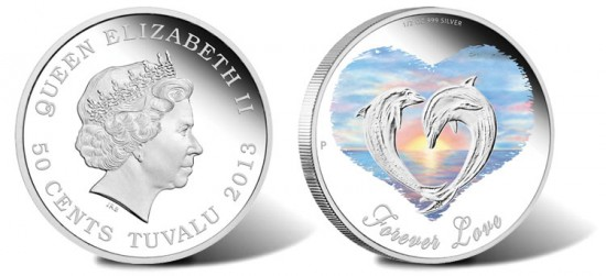 2013 Forever Love Silver Proof Coin