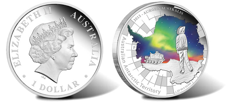 2006 ANTARCTIC EDGEWORTH DAVID Silver Proof Coin