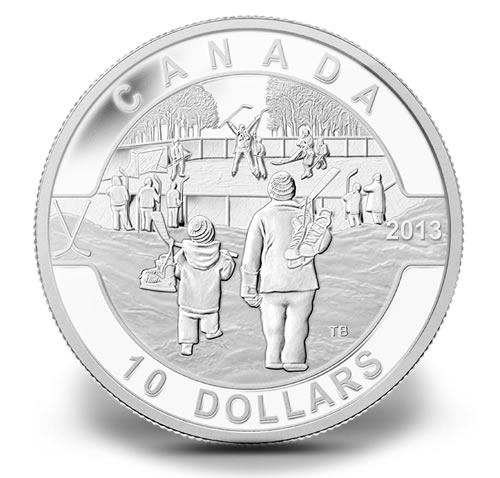 2013 O Canada 1 2 Ounce Silver Coins Near Subscription