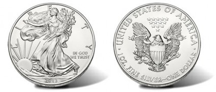 2013 Silver Eagle Bullion Coin