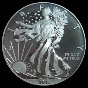 2013-W Enhanced Uncirculated Silver Eagle Obverse