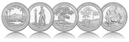 2013 America the Beautiful Coins