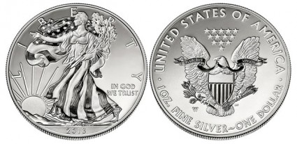 2013 Enhanced Uncirculated West Point American Silver Eagle