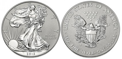 2013 Reverse Proof West Point American Silver Eagle