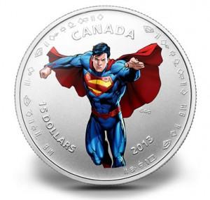 $15 Modern Day Superman silver coin