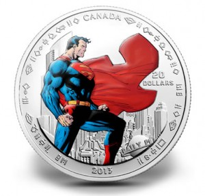 $20 Man of Steel silver coin