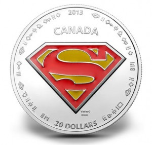 $20 Superman's Shield silver coin
