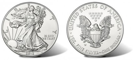2013-W Uncirculated Silver Eagle