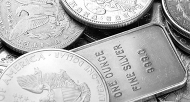 US Silver Coins and Silver Bar