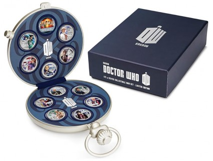 Fob Watch Presentation Packaging and Shipper for the Doctor Who 50th Anniversary Set