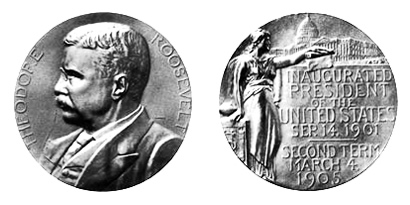 Theodore Roosevelt Silver Medal