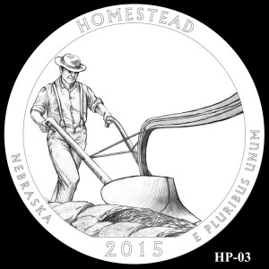 Homestead National Monument of America Silver Coin, Design Candidate HP-03