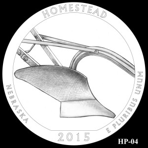 Homestead National Monument of America Silver Coin, Design Candidate HP-04