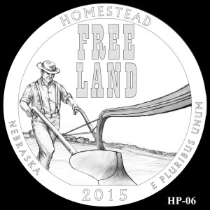 Homestead National Monument of America Silver Coin, Design Candidate HP-06