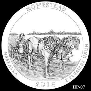 Homestead National Monument of America Silver Coin, Design Candidate HP-07