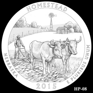 Homestead National Monument of America Silver Coin, Design Candidate HP-08