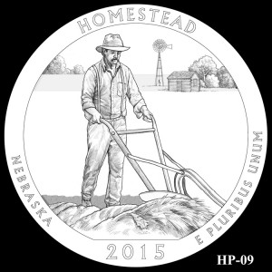 Homestead National Monument of America Silver Coin, Design Candidate HP-09