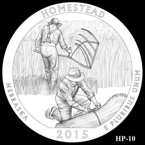 Homestead National Monument of America Silver Coin, Design Candidate HP-10