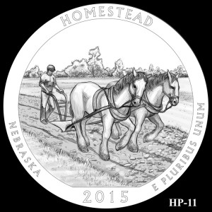 Homestead National Monument of America Silver Coin, Design Candidate HP-11