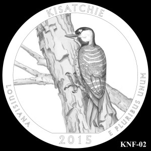 Kisatchie National Forest Silver Coin, Design Candidate KNF-02