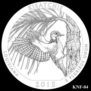 Kisatchie National Forest Silver Coin, Design Candidate KNF-04