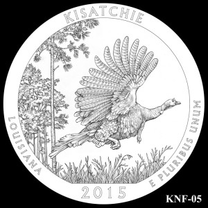 Kisatchie National Forest Silver Coin, Design Candidate KNF-05