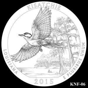 Kisatchie National Forest Silver Coin, Design Candidate KNF-06
