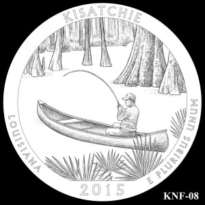 Kisatchie National Forest Silver Coin, Design Candidate KNF-08