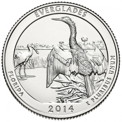 2014 Everglades National Park Coin