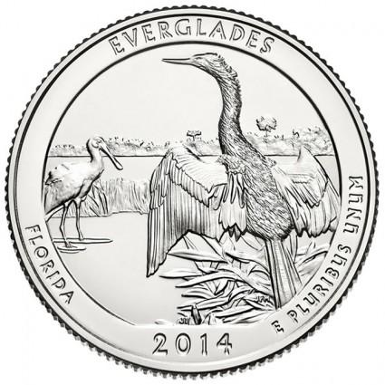 2014 Everglades National Park Coin