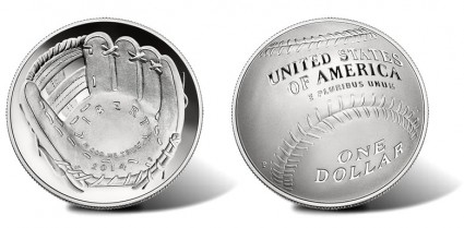 2014-P National Baseball Hall of Fame Proof Silver Coin