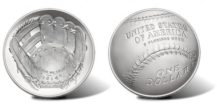2014-P National Baseball Hall of Fame Uncirculated Silver Coin