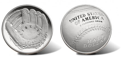 2014-S National Baseball Hall of Fame Proof Clad Half-Dollar