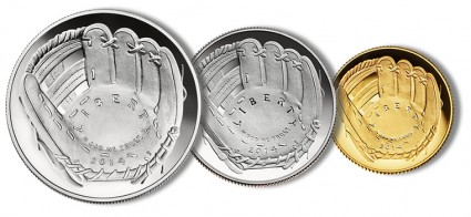 2014 National Baseball Hall of Fame Commemorative Coins