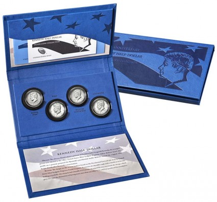 50th Anniversary Kennedy Half-Dollar Silver Coin Collection