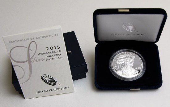 2015-W Proof American Eagle Silver Coin