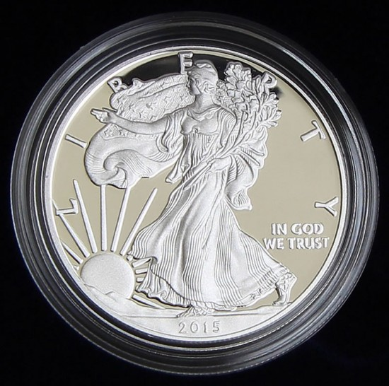 2015-W Proof Silver Eagle Coin