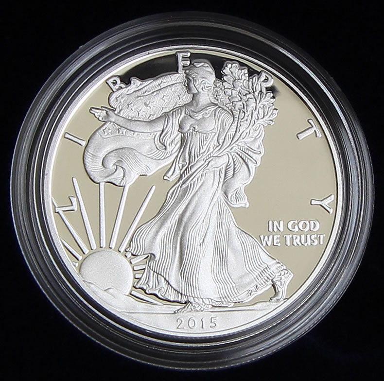 2016 W Burnished 1 American Silver Eagle Ngc Ms70 Brown Label