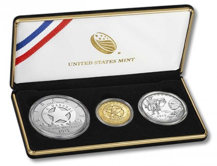 US Marshals Service 225th Anniversary Three-Coin Proof Set
