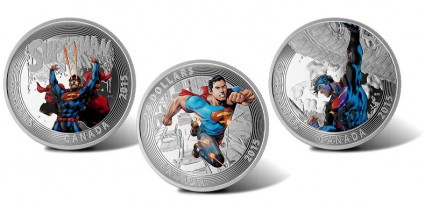 2015 $20 Superman Silver Coins