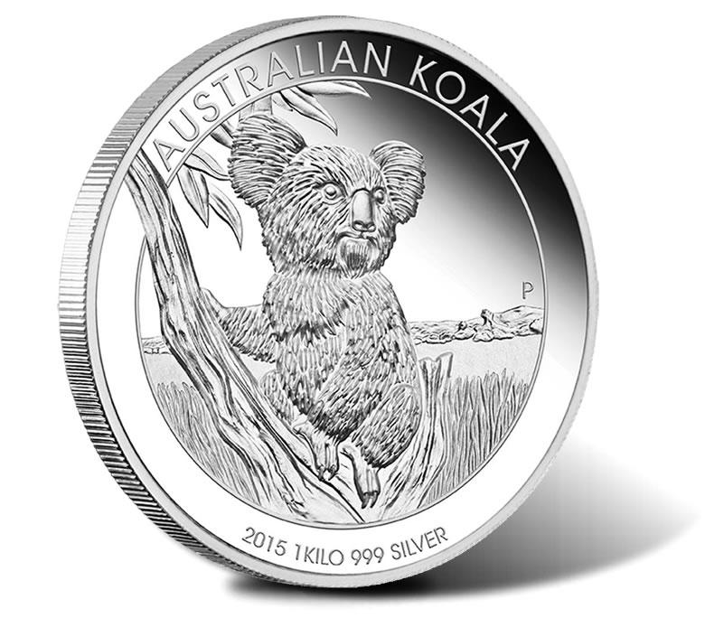 Australian Koala Coin 2015 Australia ELIZABETH II 1 Dollar