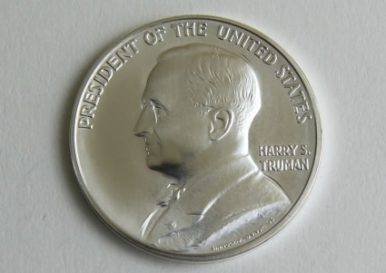 2015 Harry S. Truman Presidential Silver Medal in Chronicles Set