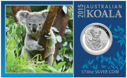 2015 Koala Silver Coin in Card