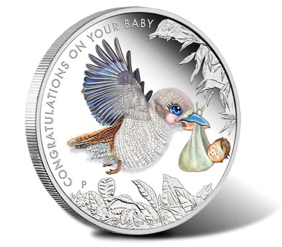 2016 50c Newborn Baby Silver Proof Coin