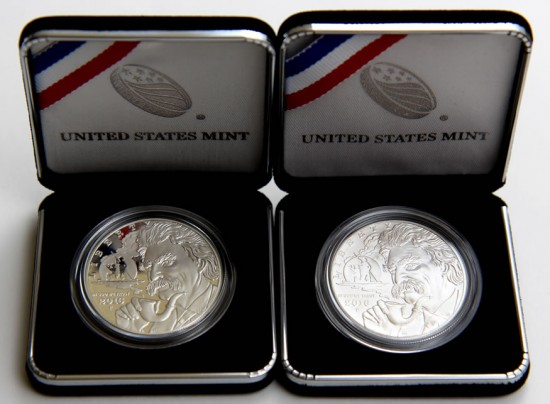 Mark Twain Silver Dollars - Proof and Uncirculated
