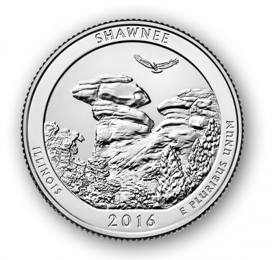 Shawnee National Forest Quarter
