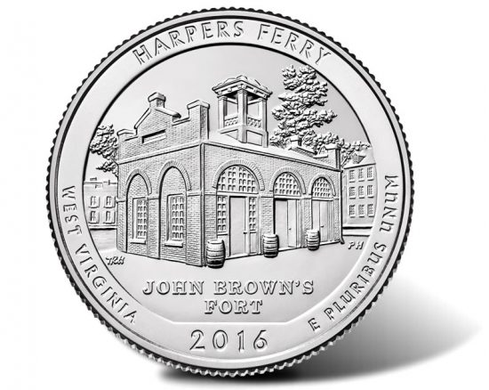 Harpers Ferry National Historical Park Coin