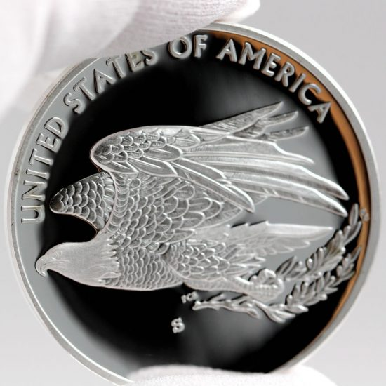 2016 American Liberty 1 Ounce Silver Medal Reverse