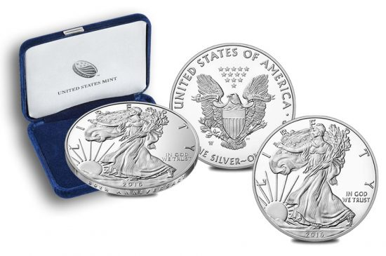 2016-w-proof-american-eage-silver-coin-and-case